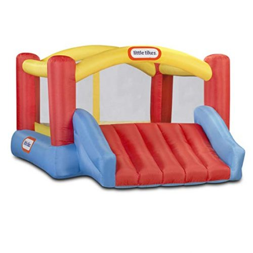 8. Inflatable Jump 'n Slide Bounce House – Little Tikes