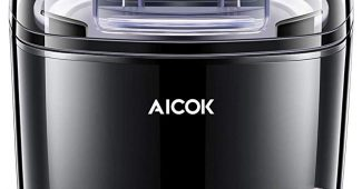 9. Aicok 1.6 Quart Ice Cream Maker