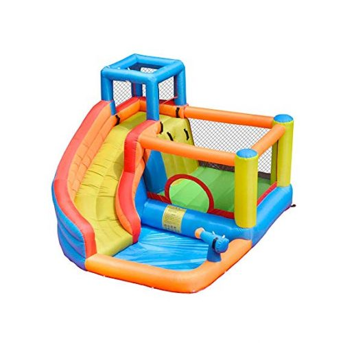 9. Inflatable Bounce Slide House – Doctor Dolphin