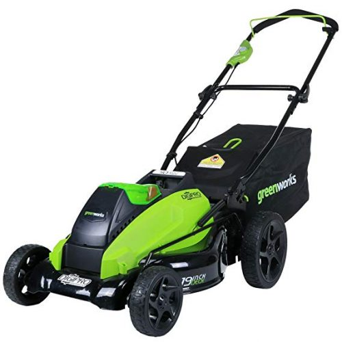 3. Greenworks 2501302 Mower