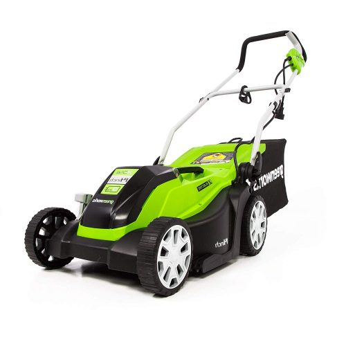 6. Greenworks MO09B01 Mower