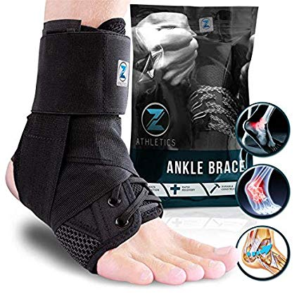 2. Z Athletics Nylon and Neoprene Ankle Brace