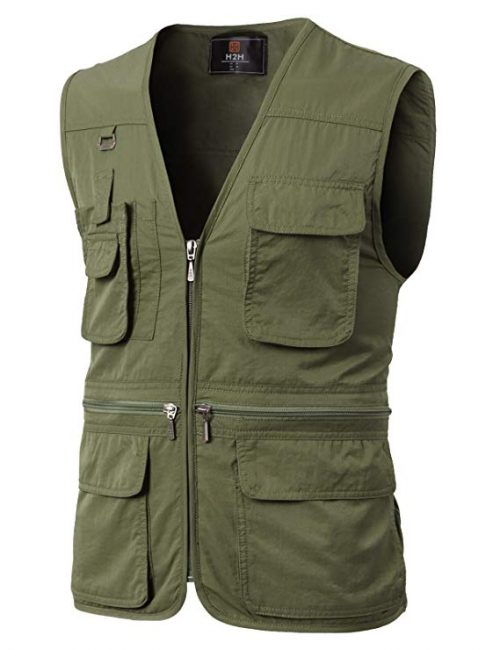 5. H2H Waterproof Travel Vest