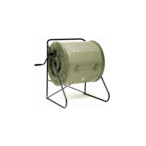 6. Mantis Compost Tumbler with Drainage Vents