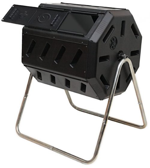 8. FCMP Outdoor 2 Bins Compost Tumbler