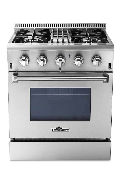 1. Thor Kitchen Stovetop and Oven