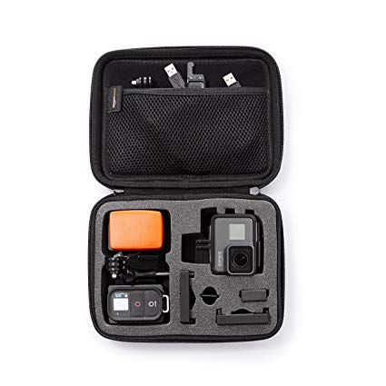 2. AmazonBasics Small Carrying Case for GoPro