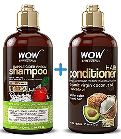 4. WOW Shampoo & Hair Conditioner Set