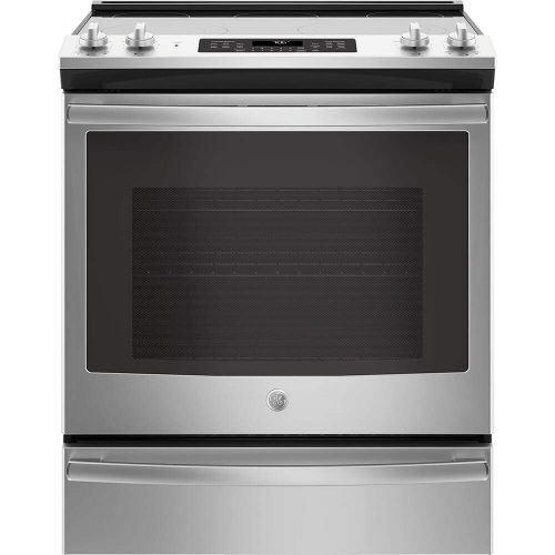 6. GE Cooktop with LCD