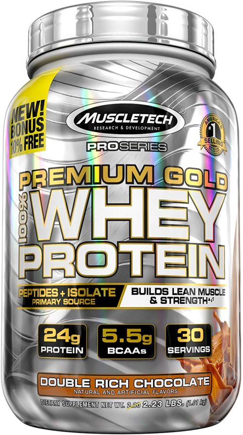 5. Muscletech Pro Series Whey Protein