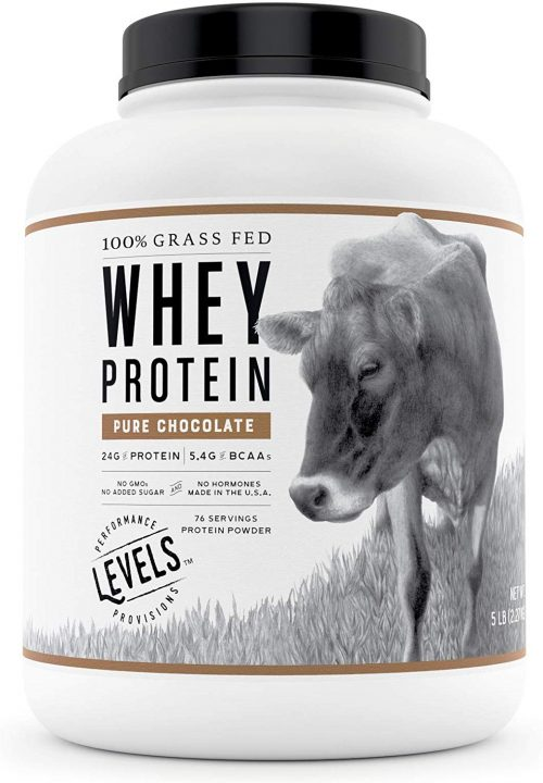 8. Levels Grass Fed Whey Protein