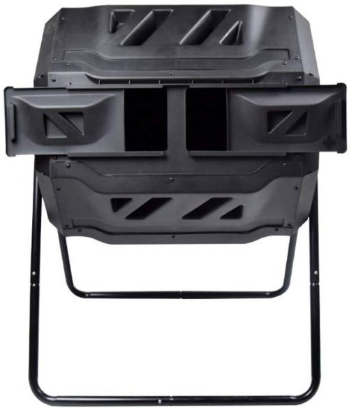 10. EJWOX Compost Tumbler with Aerated Bar