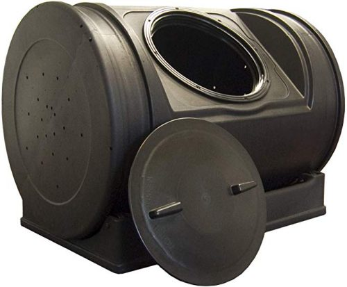 2. Good Ideas Dual Chamber Compost Tumbler