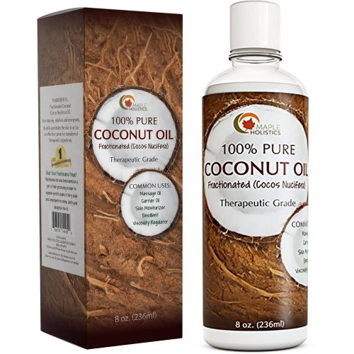 4. Coconut Oil by Maple Holistics