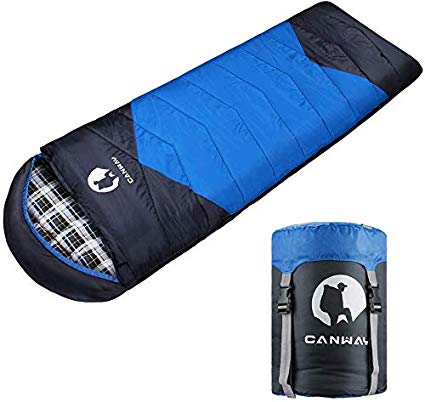 3. CANWAY 230T Polyester Sleeping Bag