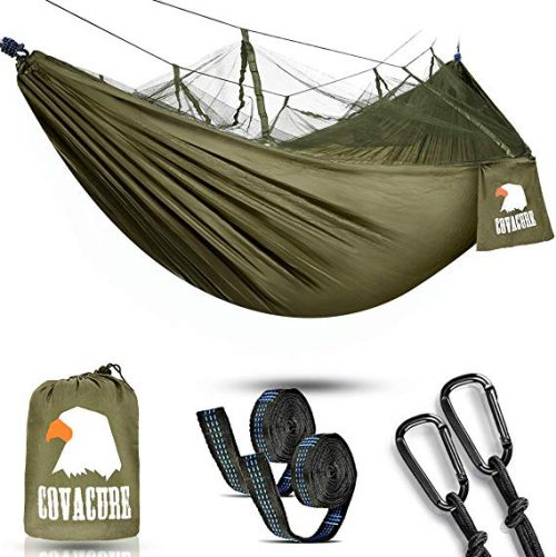 9. COVACURE Camping Hammock