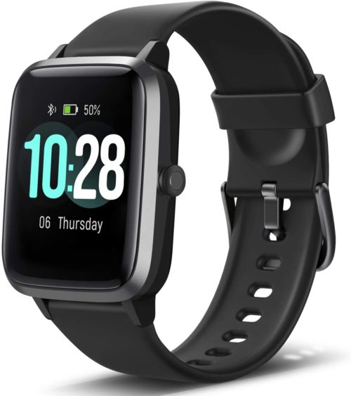 1. Letsfit Smart Watch, Fitness Tracker with Heart Rate Monitor
