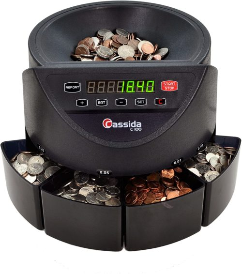4. Cassida C100 Electronic Coin Sorter