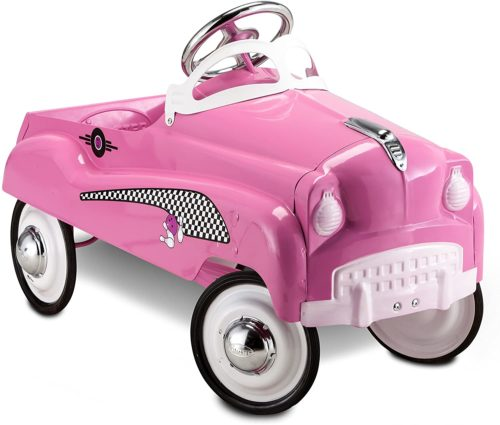 4. Instep Pink Lady Pedal Car