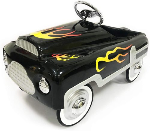 7. AutoMint Stamp Steel Pedal Car - Hot Rod Car
