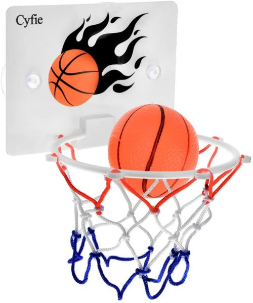 3. Cyfie Basketball Hoop Toy