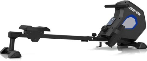 4. Merax Magnetic Exercise Rower Adjustable Resistance Rowing Machine