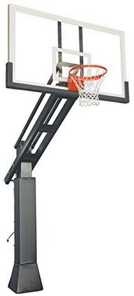 5. First Team Triple Threat In-ground Adjustable Basketball Goal Hoop