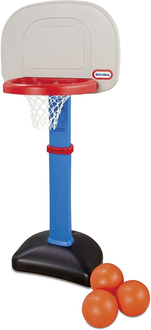 10. Little Tikes Easy Score Basketball Set
