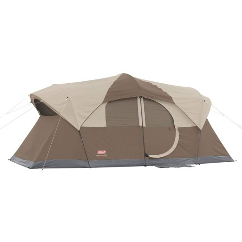 10. Coleman 9 Person Tents with Screen Room