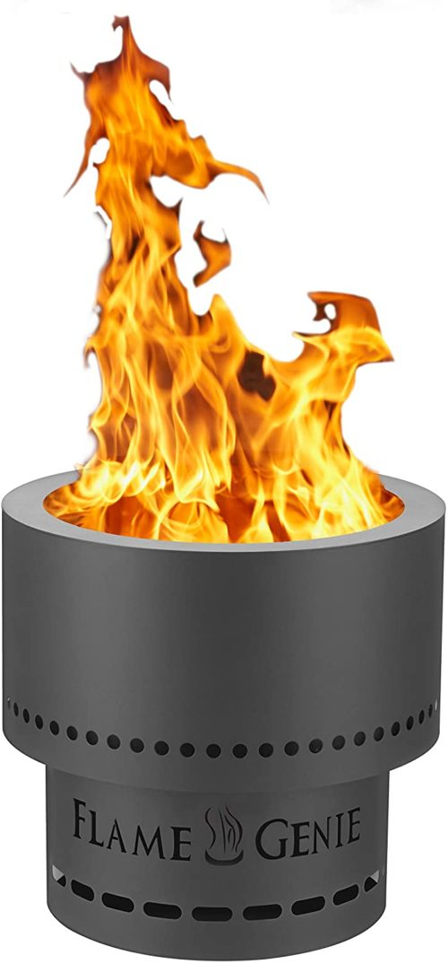 4. HY-C Genie Portable Fireplace