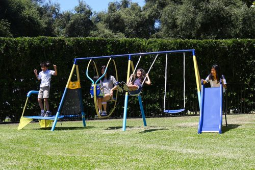 5. Generic Swing Sets with Trampoline