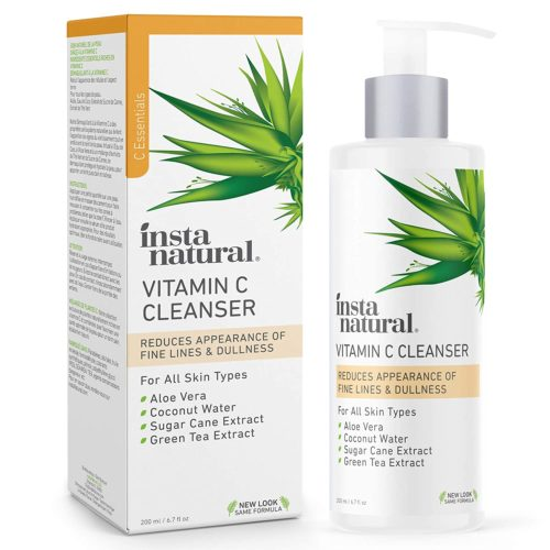 6. InstaNatural Vit C Foam Cleansers