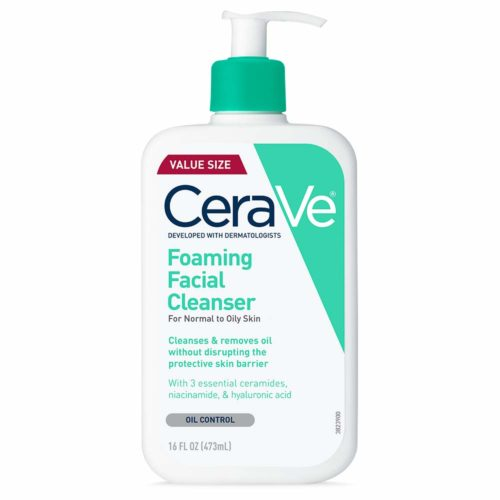 7. CeraVe Hyaluronic Acid Foam Cleansers