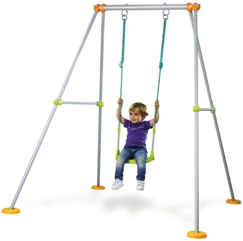 7. Smoby Child-friendly Metal Swing Sets