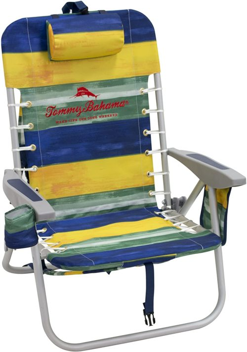 7. Tommy Bahama Beach Chairs with Pouch