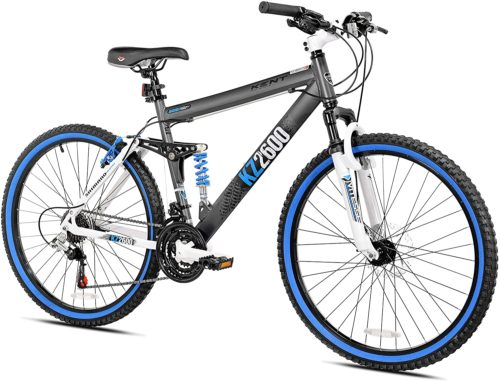 8. Kent Men's 21-Speed Mountain Bikes