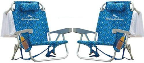 8. Padded Tommy Bahama Beach Chairs