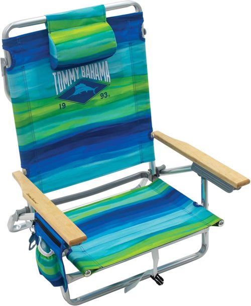 9. Adjustable Tommy Bahama Beach Chairs