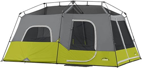 9. Core 9 Person Tents with Carry Bag