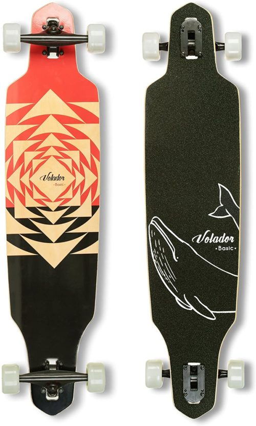 9. VOLADOR Best Pintail Longboards Of All Time