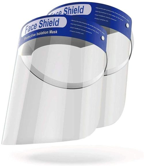 1. OMK Reusable Face Shields