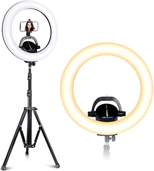 10. UBeesize Wireless Outer Ring Light