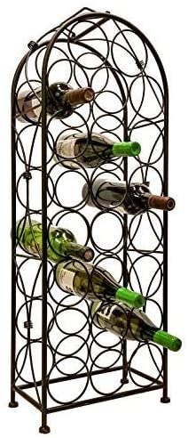 7. J Miles Co. Freestanding Wine Rack