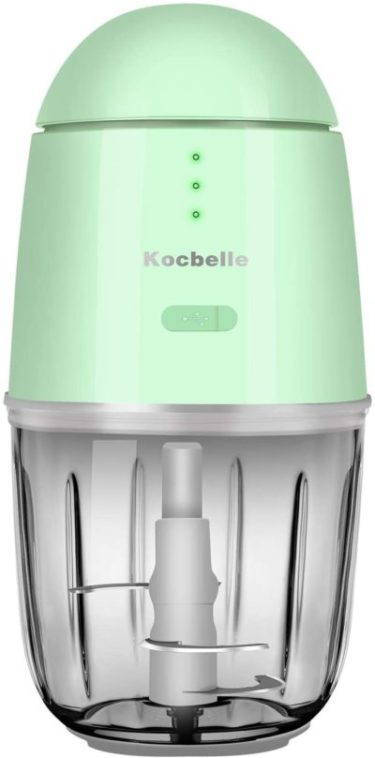 11. Kocbelle Wireless Electric Small Food Processor