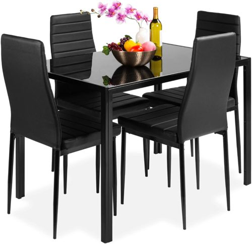 2. Best Choice Products Kitchen Dining Table Set