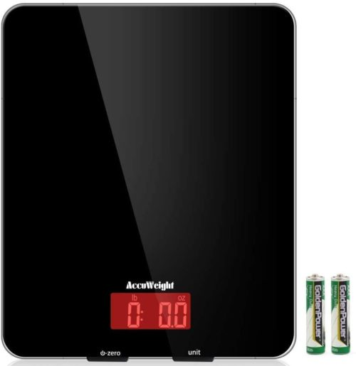 5. AccuWeight Digital Multifunction Food Scale