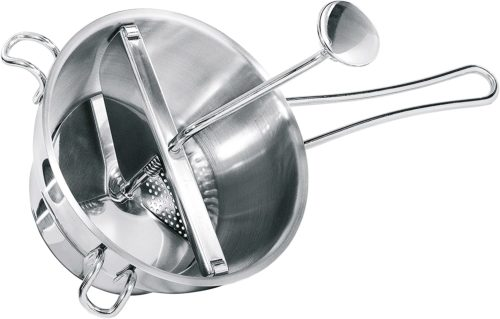 6. Stainless Steel Food Mill by GEFU