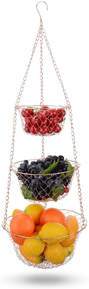 8. IBERG 3-Tier Fruit Basket