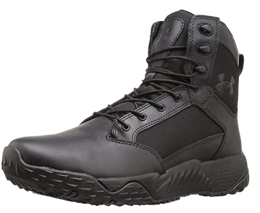 4. Under Armour Leather Police Boots