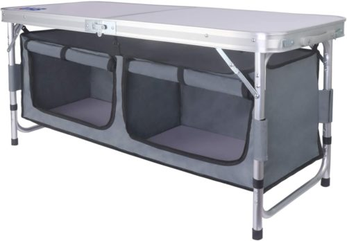 12. AHB Outdoor Folding Camp Table